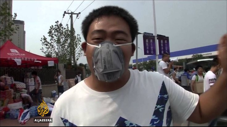 Sodium cyanide leak feared after China explosion