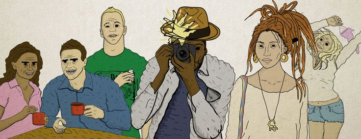 16 characters you'll meet on a night out in Cape Town