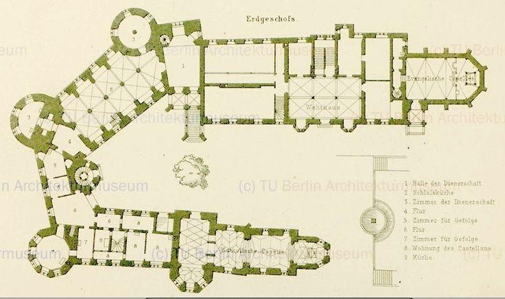 Afbeeldingsresultaten Voor Hohenzollern Castle Floor Plan Tu Berlin Architektur Burg Schloss Neuschwanstein