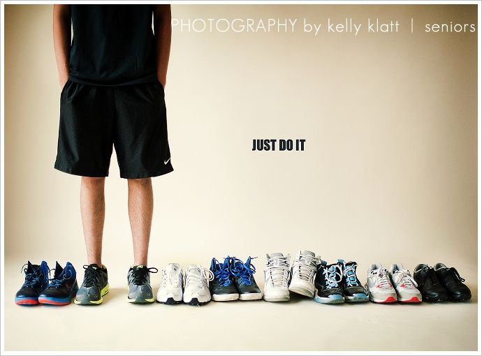 shoe collector's photo. i should do this as a self portrait with my favorite shoes!