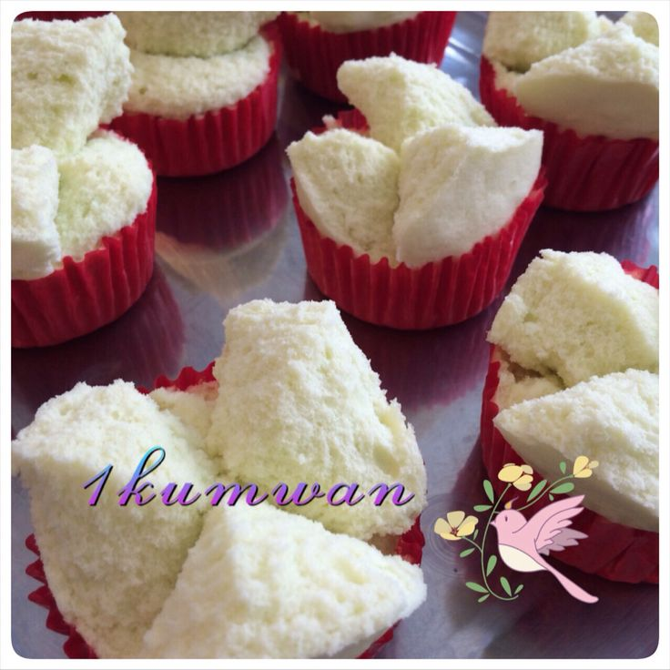 Cotton ball cake