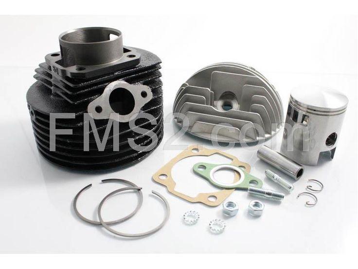 Motore gruppo termico completo dr per Piaggio Vespa 125 ET3 in ghisa con diametro 57mm (DR, HUTCHINSON e TOP PERFORMANCE), ricambio KT00015