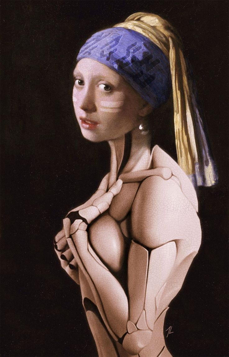 Humanoid with a Pearl Earring