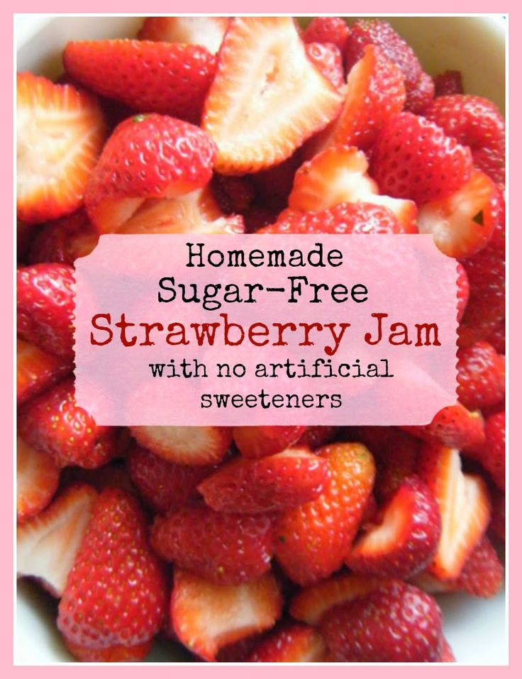 In His Image: Sugar Free Strawberry Jam (without artificial swee...