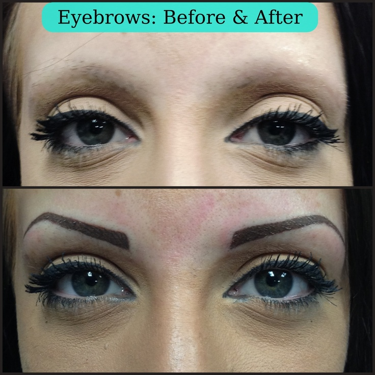 30 best tattooed eyebrows images on pinterest brows for Cosmetic eyebrow tattoo