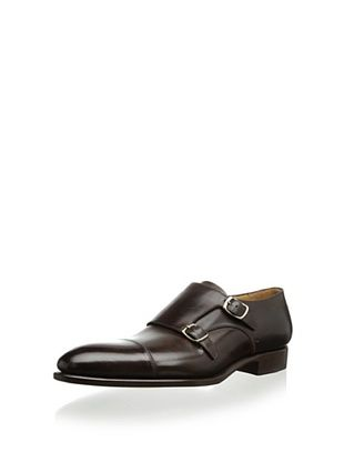 61% OFF Carlos Santos Men's Gandra Double Monk (Dark Brown)
