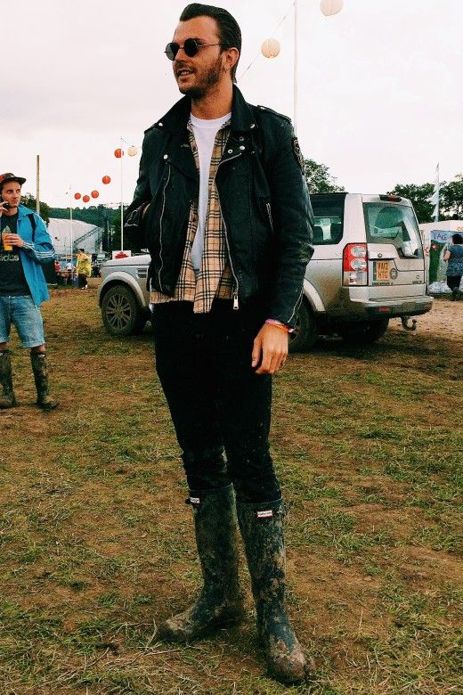 Theo Hutchcraft in Hunter Boots