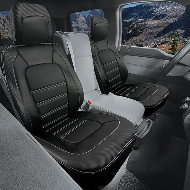 Introducing the Carbon Fiber Truck Seat Cover! Designed specifically to restyle & protect the front bucket seats of trucks and large SUVs. Featuring padded sections with carbon fiber pattern trim, this seat cover will fit well with most interiors and adds a tough, luxurious touch.  Purchase at: http://masque.ca/live2/product/carbon-fiber-truck-front/  #ford #f150 #carbonfiber #seatcover #black #leather #masque #truck #trucks #offroad #trucksofinstagram #trucklife #mudding #instacool #luxury…