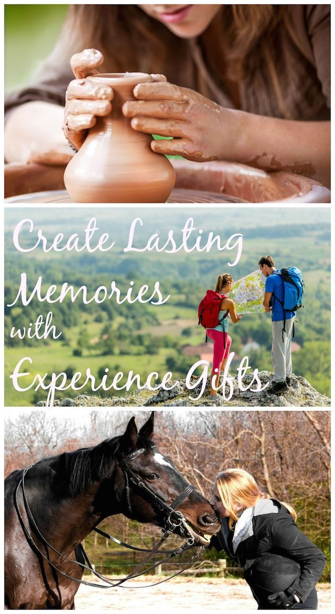 """Experience gifts are a fun & creative way to create memories without giving """"stuff""""  When we put the holiday season in perspective, we're reminded that people are more important than things.  And what better way to honor the people in your life than by helping to create lasting memories or maybe even fulfilling a lifelong dream?  The perfect experience gift can do just that."""