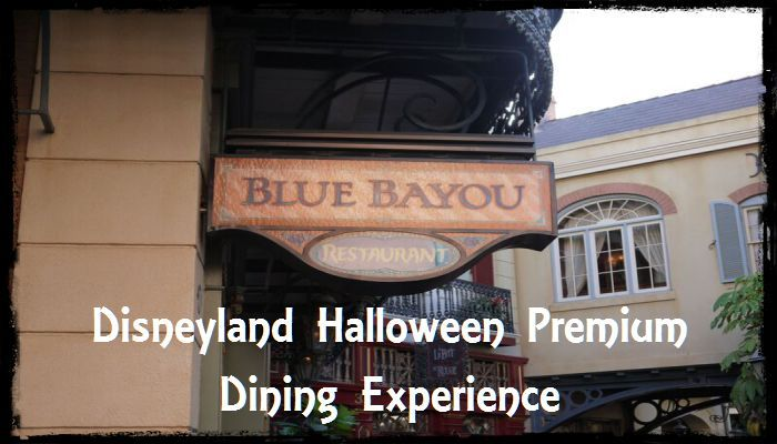 Disneyland Halloween Premium Dining Experience at Blue Bayou with Dr Facilier