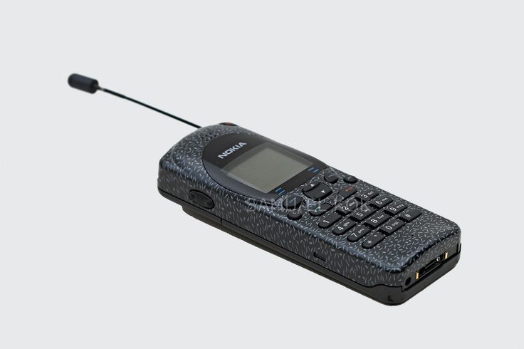 This was my second phone, the original Nokia (Brick) 1110 ...