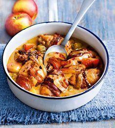 Krämig kycklinggryta med äpple och cider - En riktig allt-i-ett-succé som du kommer att vilja göra om och om igen