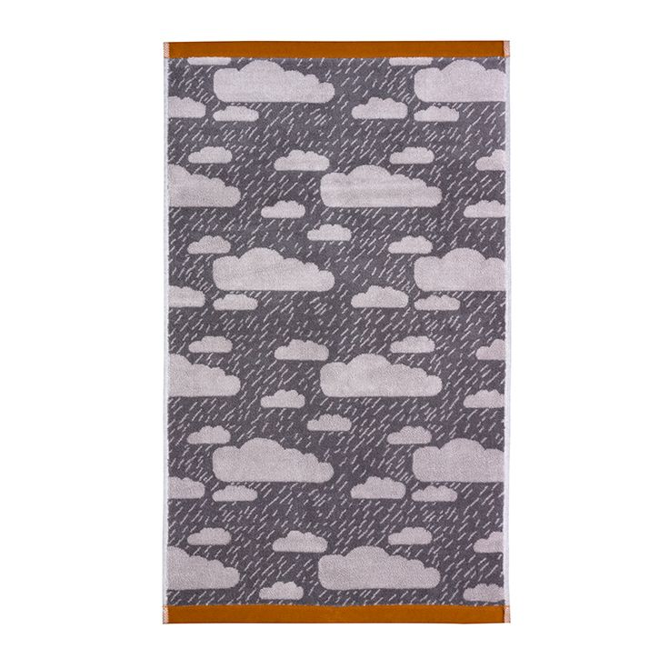 Donna Wilson – Rainy Day Towel Set – Grey