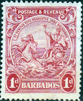 Barbados 1925 Seal of the Colony SG 231 Fine Mint SG 231 Scott 167 Other Old Postage Stamps Here