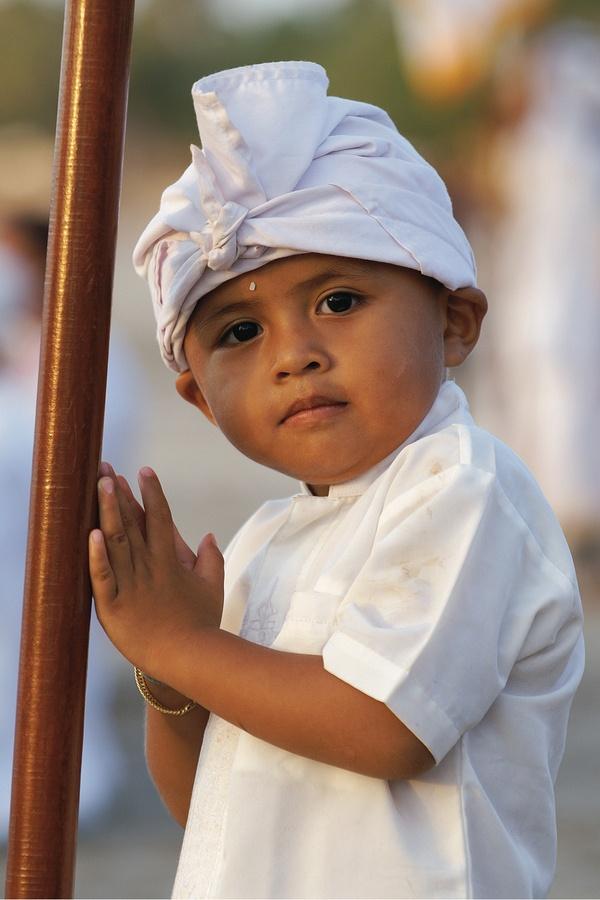 Little boy from bali