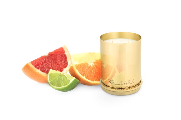 Pure brass luxury candles