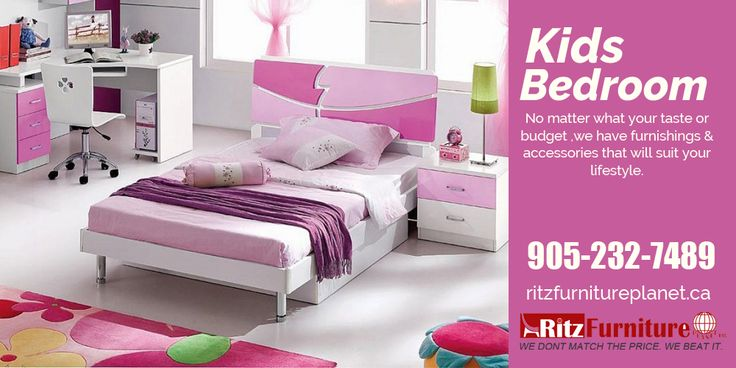 Ritz Furniture Planet offers a wide range of the best #childrenbedroomfurniture and #kidsbedroomfurniture in #Mississauga at affordable prices.  So don't think more, visit our store today: Ritz Furniture Planet Ltd, 5200 Dixie Rd, Mississauga, ON L4W 1E8, #Canada  Telephone: 905-232-7489, 289-521-7489 Fax: 905-232-7489 Email: info@ritzfurnitureplanet.ca  For more information visit our website: http://www.ritzfurnitureplanet.ca/Bedroom-Furniture/Kids-Bedroom/  #bedroomfurniture #furniture…