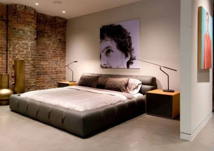 32 Top Stylish Bachelor Pad Bedroom Ideas for Cool Men ...