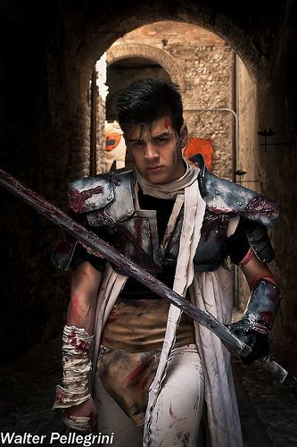Gatsu: the young berserker  Samuel Donnarumma - Dark Samuel Cosplayer Walter Pellegrini Photographer
