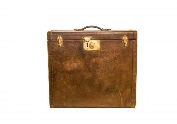 Álló bőrönd