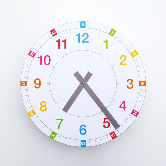 hello, Wonderful - 9 CREATIVE DIY CLOCKS TO HELP KIDS TELL TIME