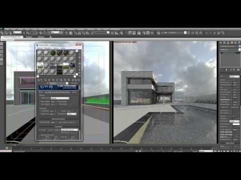 How to setup HDRI lighting in 3dsmax with VRay - YouTube