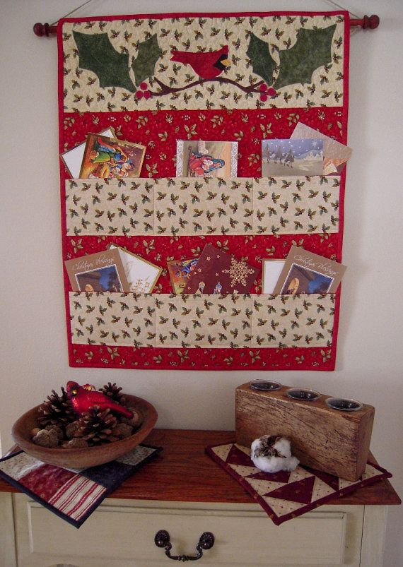 Wall Decor Card Holder : Best hanging quilts ideas on quilt hangers