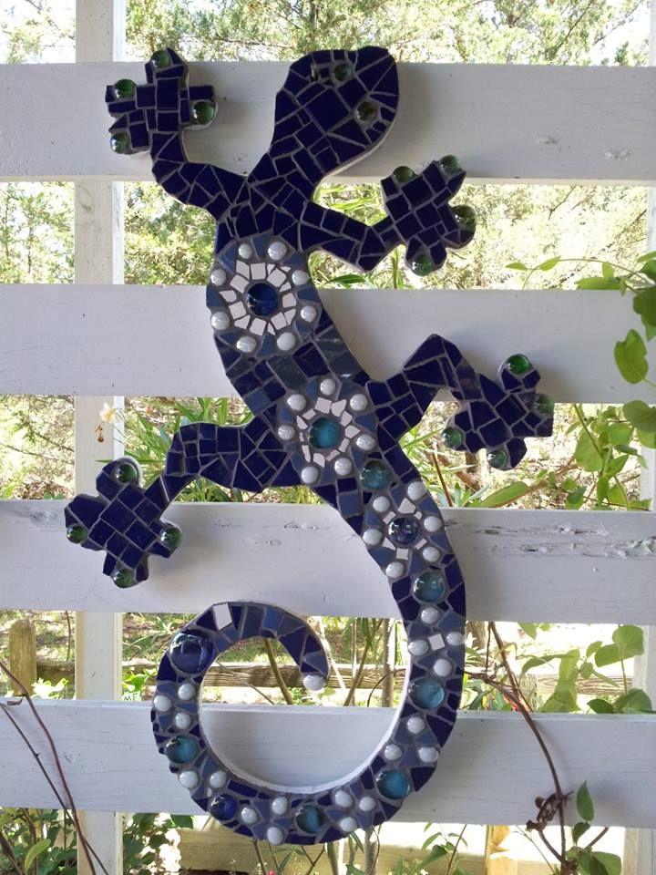 mosaic,  lizard #3  .... summer 2013