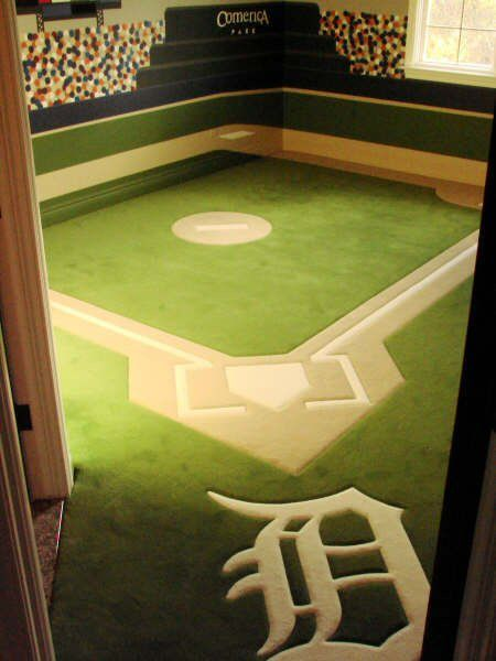 The ultimate Detroit Tigers' Fan Room!