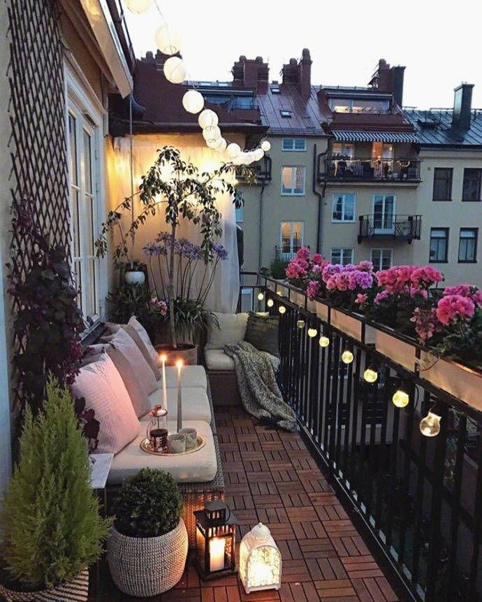 Balkon im Herbst #balkon #herbst