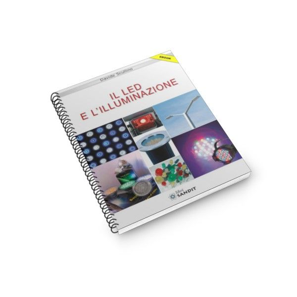 I LED e l'illuminazione Partendo dalle nozioni basilari sulla luce, questo volume spiega cosa sono e come si accendono i led, proponendo schemi applicativi per utilizzarli come semplici spie o nell'illuminazione degli ambienti. Prezzo: €11.00
