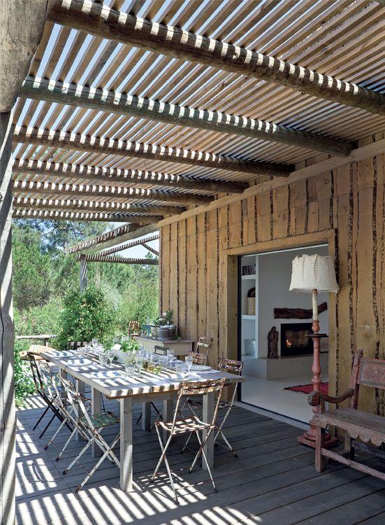 pergolas metalicas para jardin picture