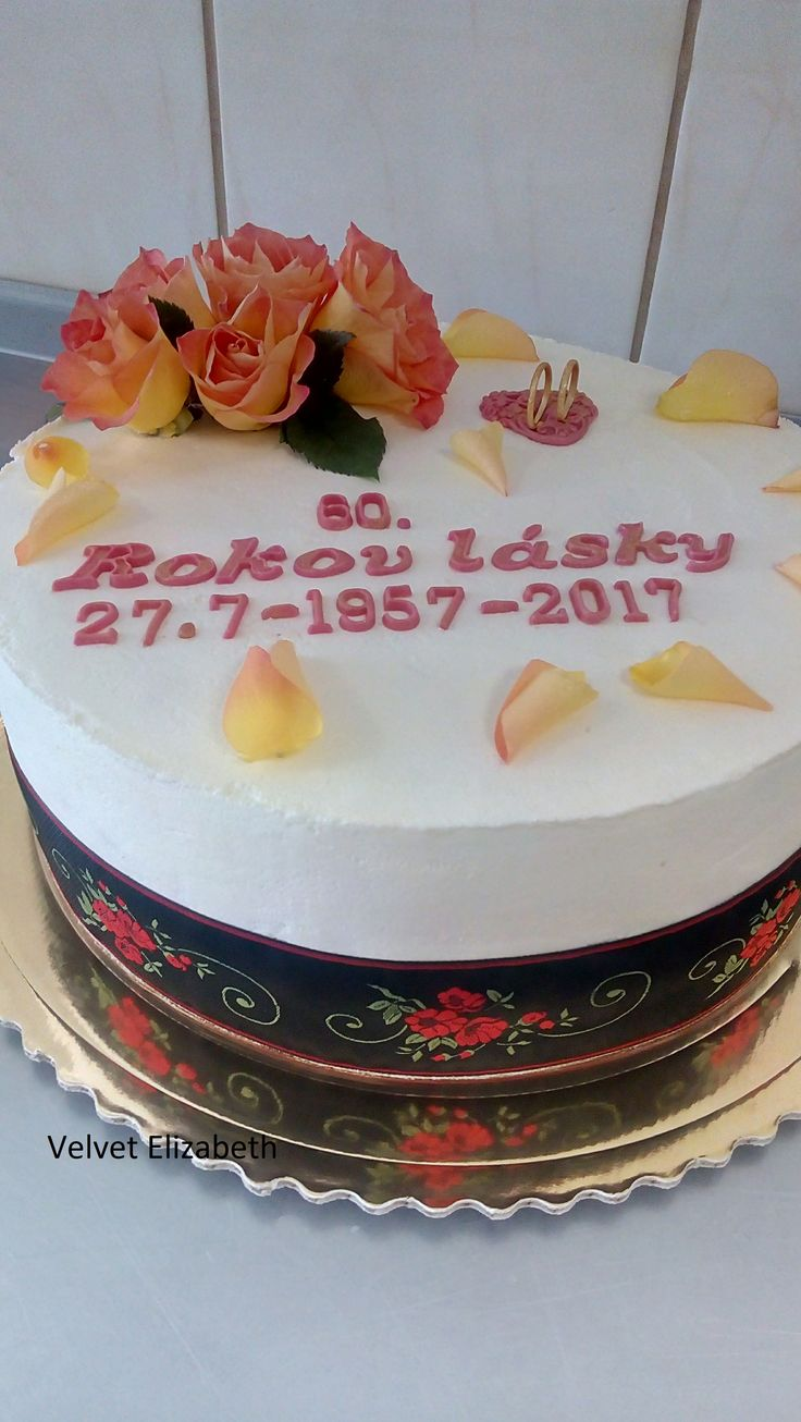 60 years old cake