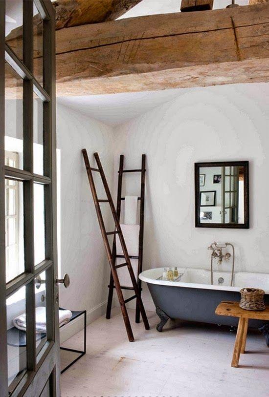 Bañeras antiguas de hierro.