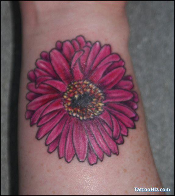flower tattoos   pink flower tattoo , Flower Tattoos