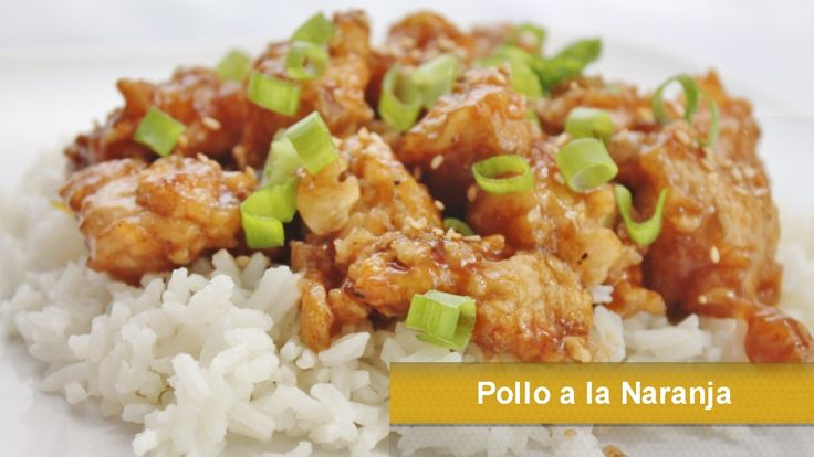 Pollo a la naranja orange chicken recetas asiaticas for Comidas faciles de cocinar