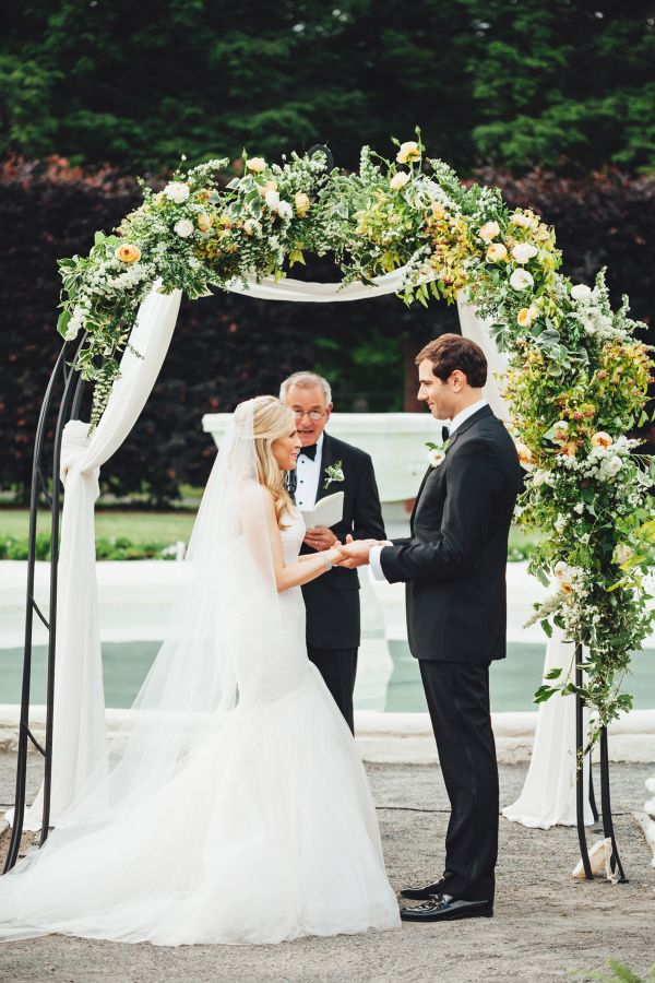 """You followed her adventures from """"I will"""" to """"I do,"""" and today our blogger bride, Colour Bloc's Amelia'sSMP journey is coming full circle. She's giving us an inside peek at her summer garden nuptials designed by the pretties ofBash, Pleaseand spoiler alert"""