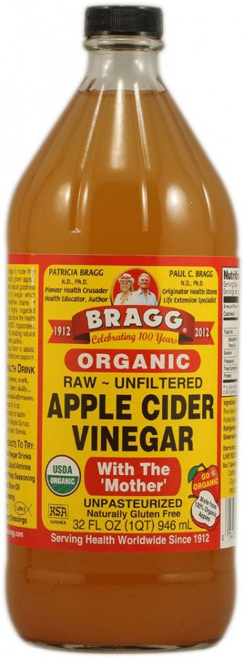 Buy Bragg Organic Raw Apple Cider Vinegar cheap and best from iherb store.Braggs ACV is made from the finest, delicious, healthy, organically grown apples. Raw Apple Cider Vinegar is full of zesty natural goodness and contains the amazing 'mother' of vinegar which occurs naturally as connected strand-like chains of protein enzyme molecules and is highly regarded throughout history.