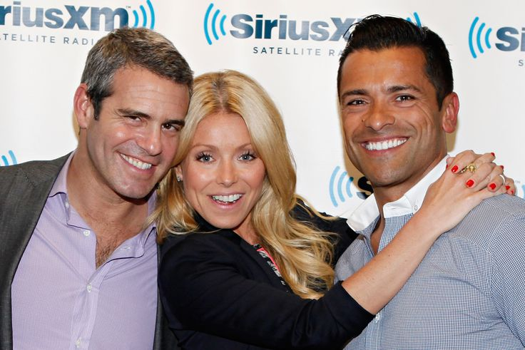 Andy Cohen Tries to One Up Kelly Ripa in His Love for Mark Consuelos