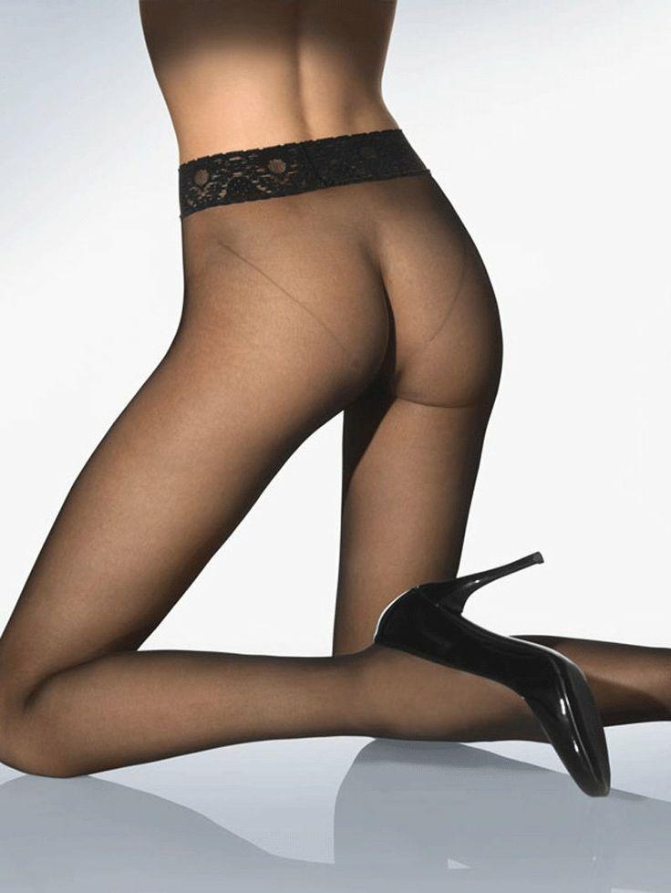Nice Black Pantyhose She 120