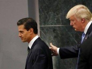 Enrique Peña Nieto acuerda ver a Trump durante transición