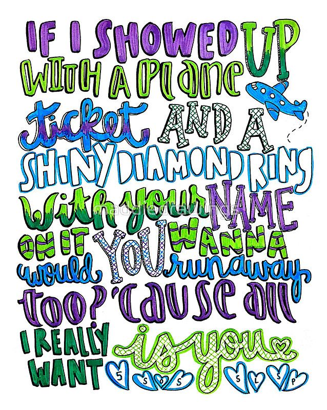 5 Seconds Of Summer: She looks so perfect Lyrics Art ...