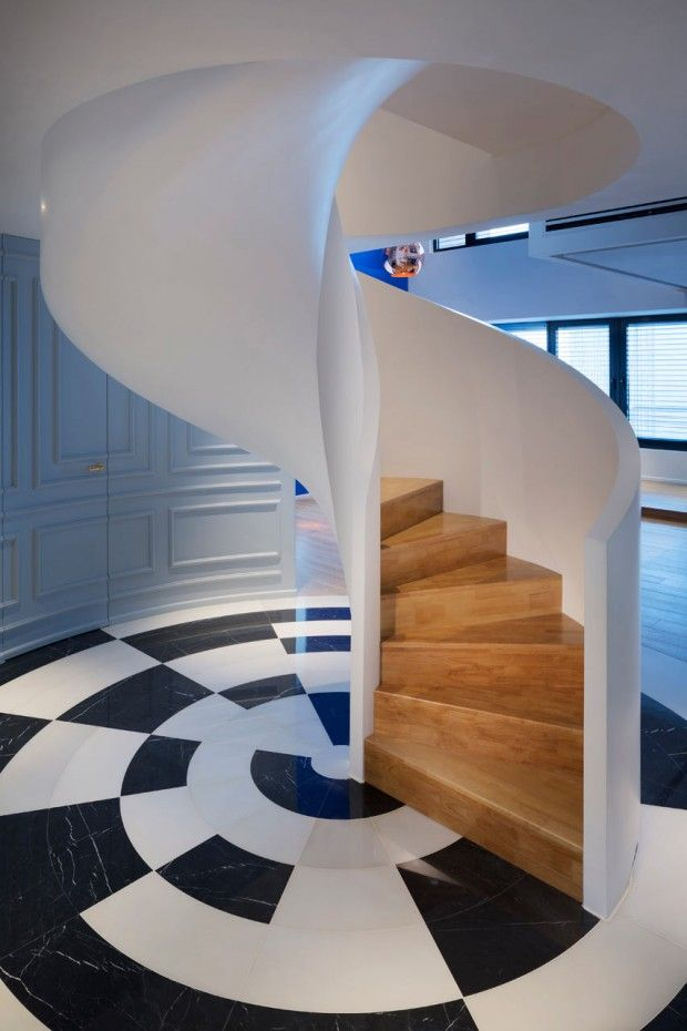 Blue Penthouse par Dariel Studio - Journal du Design