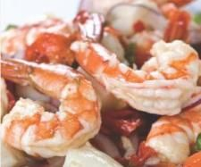 Tangy Seafood Salad (with chilli citrus dressing) - Recipe Community