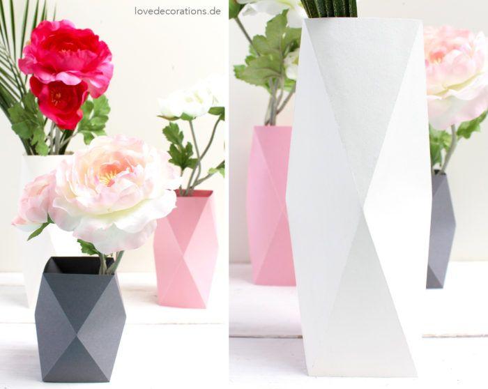 DIY Origami Vase #4 und meine besondere Beziehung zu meiner Babyborn (nicht