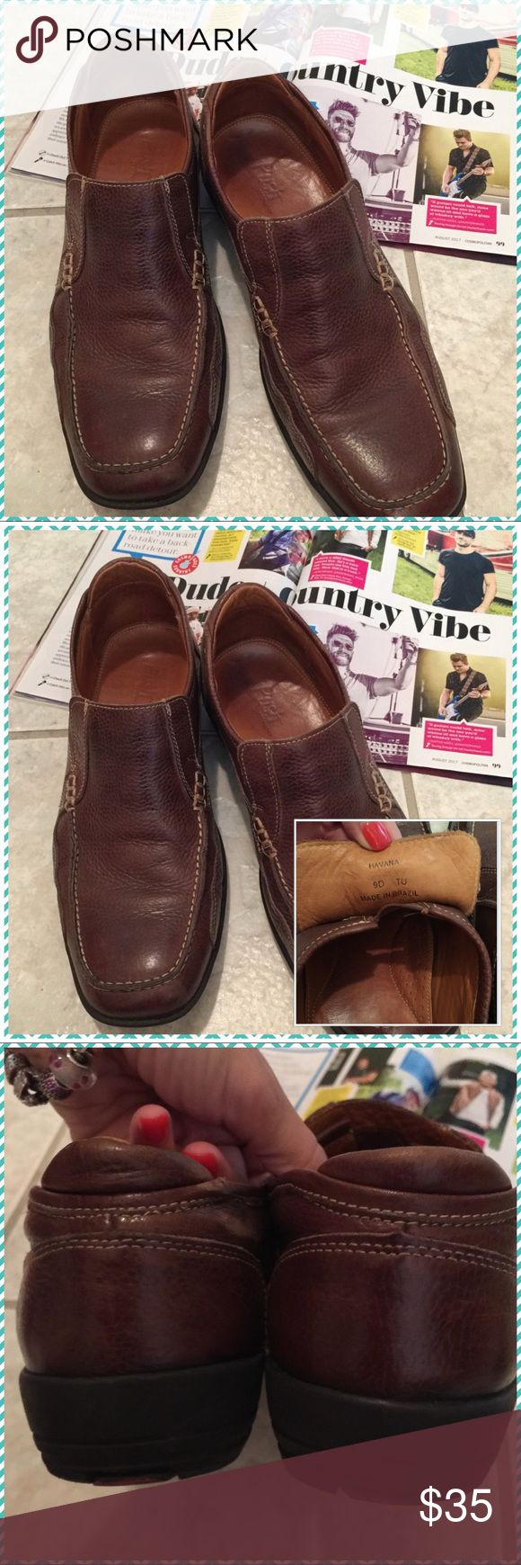 🐾USED IN GOOD CONDITION MEN'S SLIP-ON BOAT SHOES 🐾MEN'S HAVANA SLIP- ON LOAFERS BOAT SHOES. WORN A FEW TIMES IN GOOD CONDITION. Love the shoes but not the price. Feel free to make me an offer.🐾 Havana Shoes Loafers & Slip-Ons