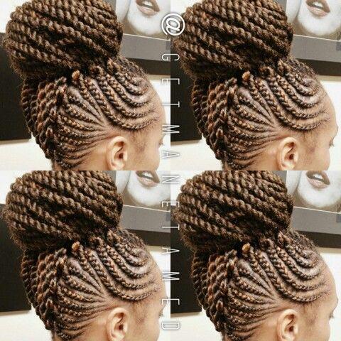 Crochet Braids New Orleans : Braided mohawk with feed in cornrows. Ghana cornrows. Ghana braids ...