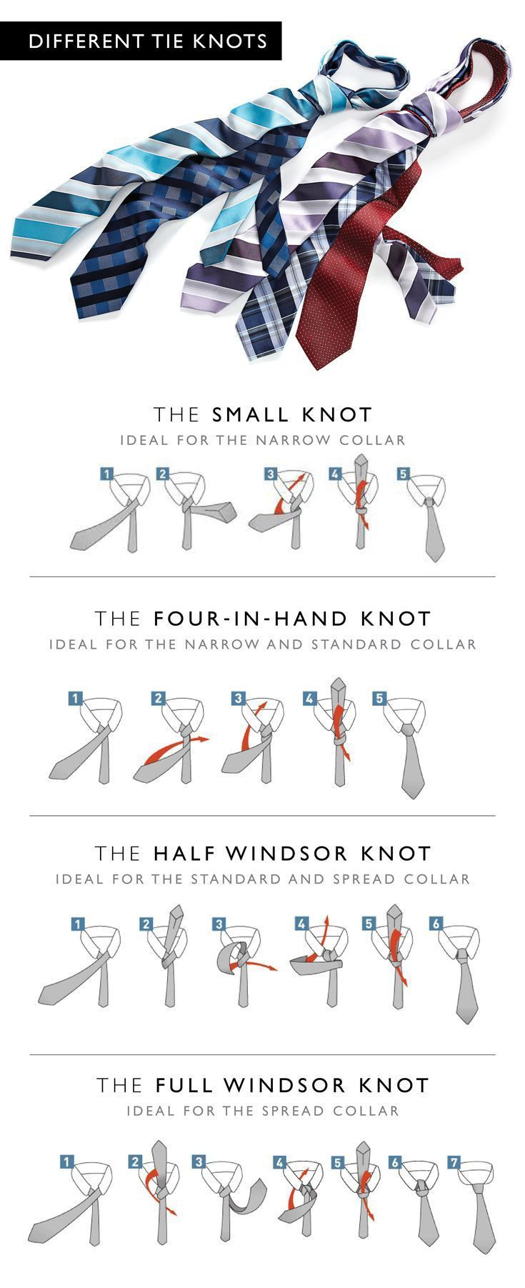 Fashion Infographic In Infographics Windsor Tie A And Ties On Pinterest Photo Cool Mens