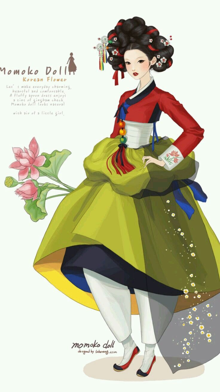 hanbok illustration