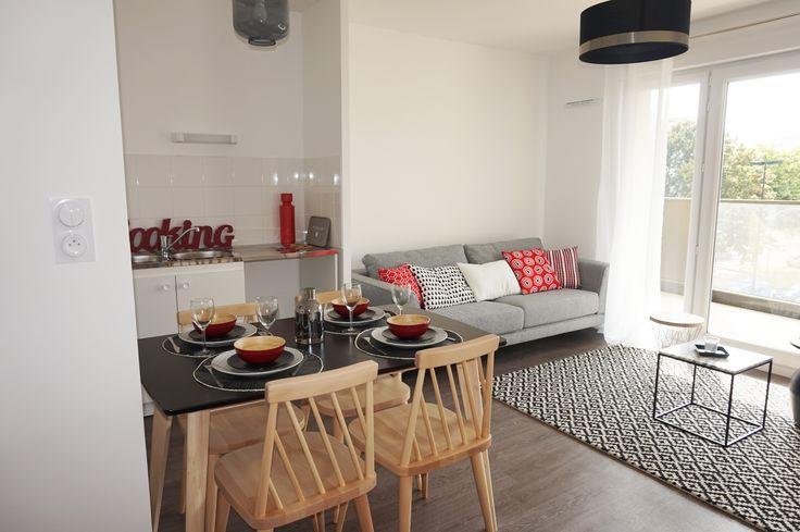 Valorisation immobilière d'un appartement témoin à Nantes (44) – Kiosque Deco